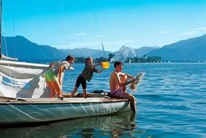 Met kinderen op vakantie bij het Gardameer