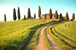 Toscaanse kust en binnenland