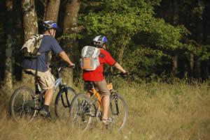 Mountainbiken in het Weserbergland