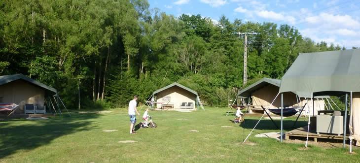 Luxe campingvakantie boeken