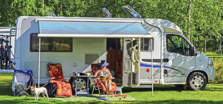 Reserveer een staanplaast voor tent, caravan of camper