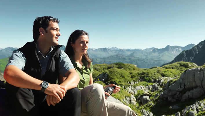 Wandelen in Alpenregion Blutens