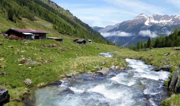 Galtür vakantie in het Paznauntal