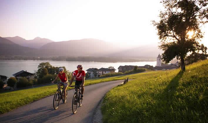 Fietsen en maountainbniken in Oberösterreich