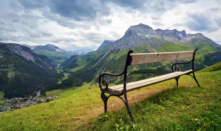 Wandelen en fietsen in Vorarlberg