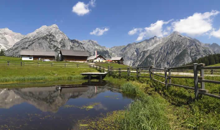 Vakantie in Imst en het Gurgtal