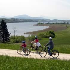 Fietsen voor iedereen in het Salzburger Seenland