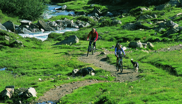 Mountainbiken op de Pfitscherjoch, Zillertal. ©Tirol Werbung / Kranebitter Klaus
