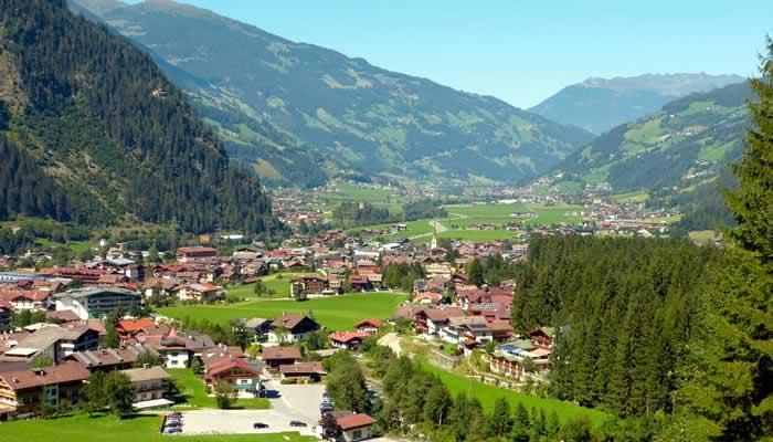 Zomervakantie in Mayrhofen