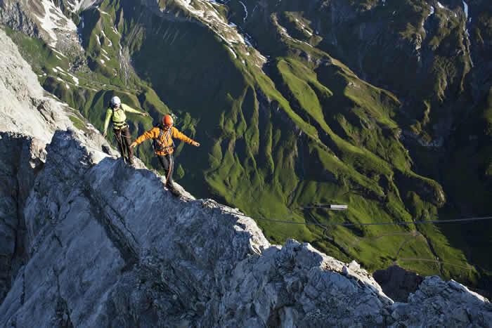Extreme outdoor activiteiten bij St Anton am Arlberg