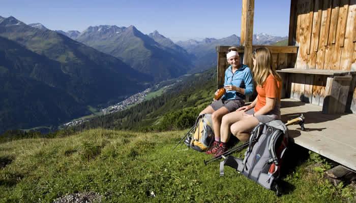 Wandelen bij St Anton am Arlberg