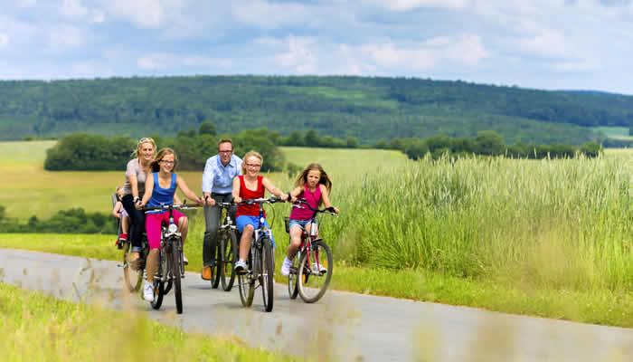 Tips een aanbiedingen fietsvakanties