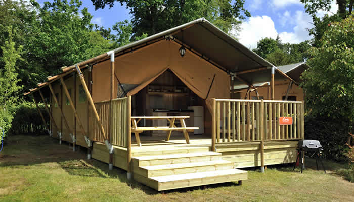 Canvas Holiday campings in Europa