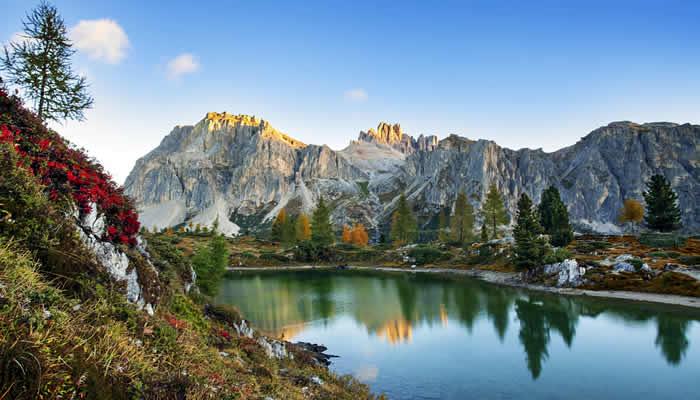 Vakantie in de Alpen en Dolomieten in Italië
