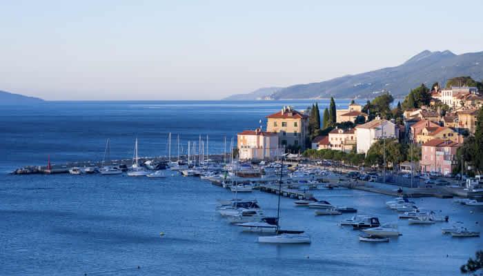 Kvarner in Kroatië