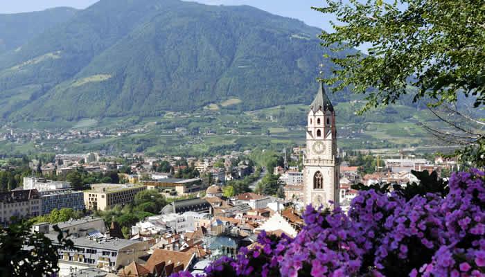 Vakantie in Marling, Zuid-Tirol