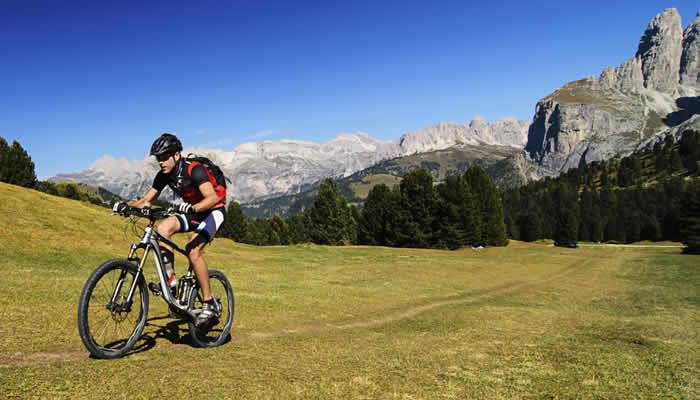 Mountainbiken in Val-Gardena (Gröden)