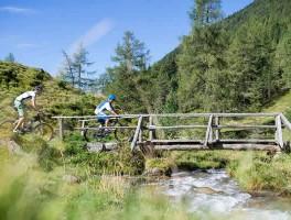 Mountainbiken bij Pfalzen