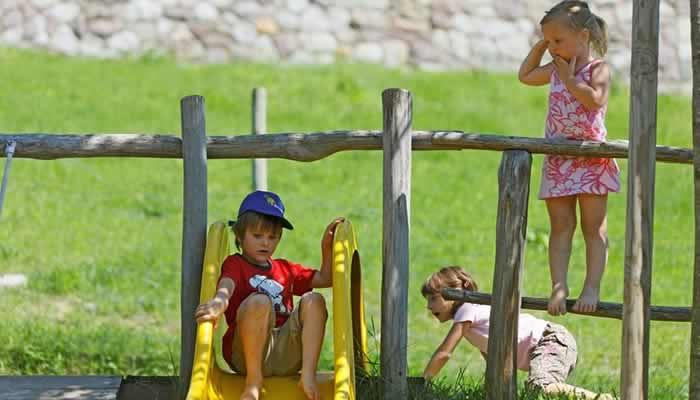 Vakantie Schenna met kinderen.