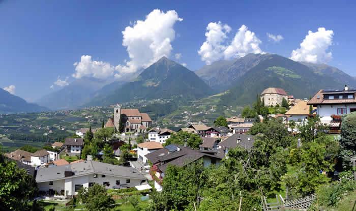 Schenna in Zuid-Tirol
