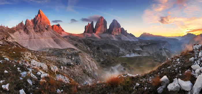 Genieten van de natuur in Val Gardena