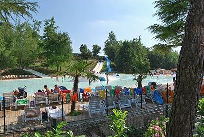 Camping Altomincio Family Park bij Valeggio sul Mincio (Verona)