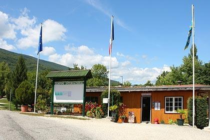Camping International bij Seyssel (Haute-Savoie)