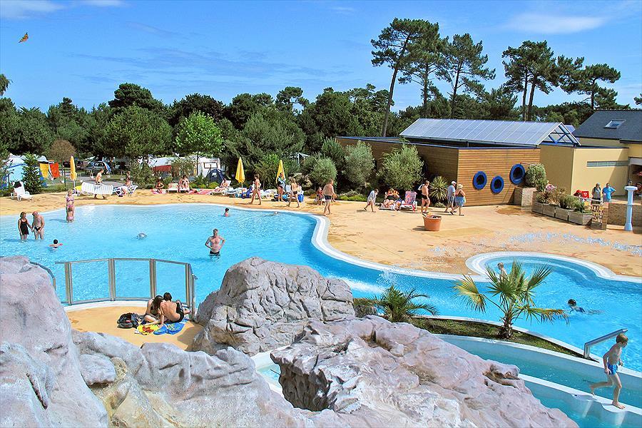 Camping Yelloh! Village Les Pins in Erquy is een kindvriendelijke camping in Frankrijk