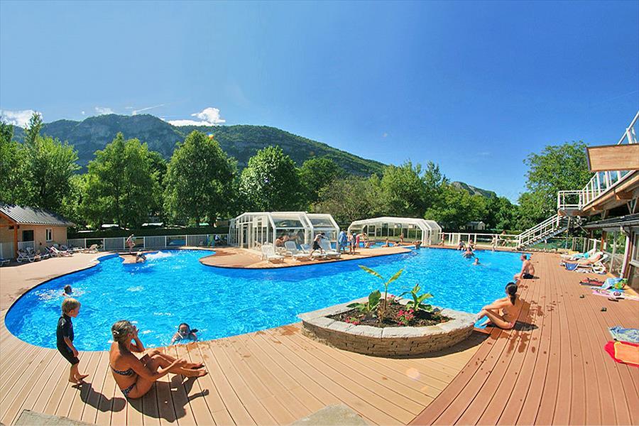 Camping Les Fontaines bij Lathuile (Haute-Savoie)
