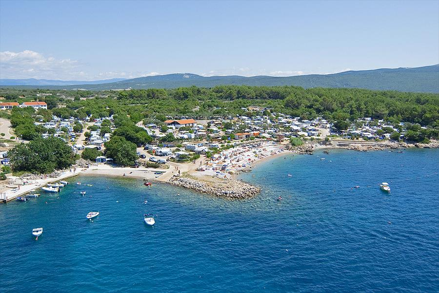 Krk Premium Camping Resort bij Krk (Primorje-Gorski Kotar)