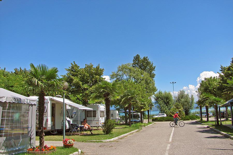 Camping Tiglio in Sirmione is een kindvriendelijke camping in Italië