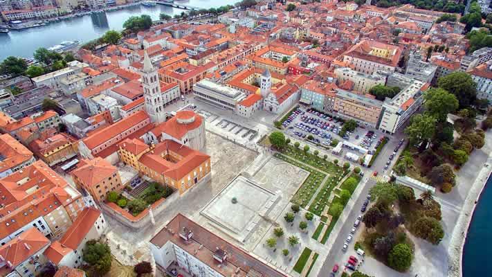 De oude stad Zadar