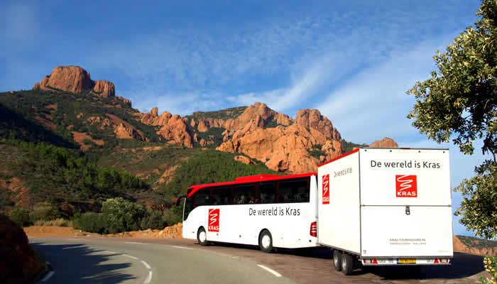 Kras busreizen en fietsbus vakanties