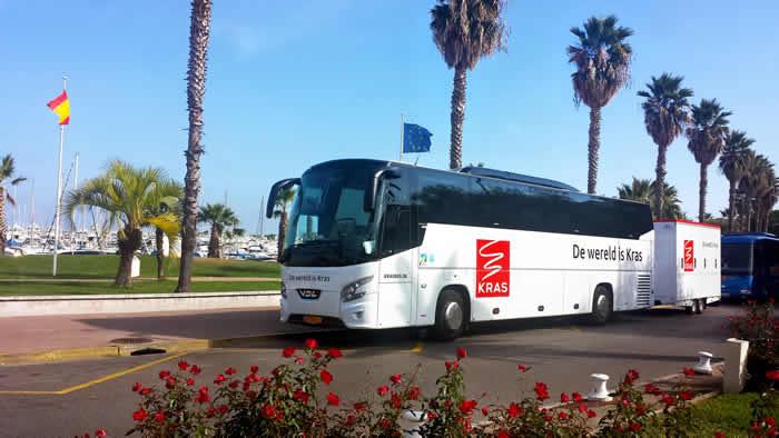 Kras busreizen Spanje