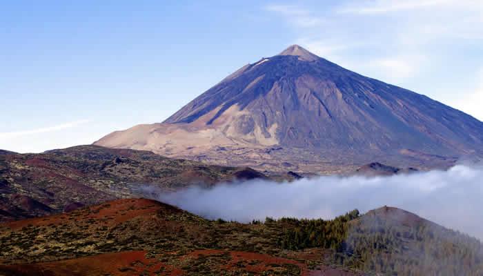 De vilkaan Teide op Tenerife
