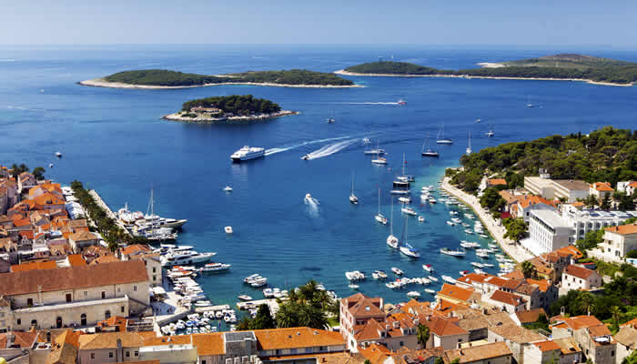 Vakantie in Dalmatië, Hvar