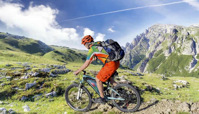 e-Biken in de Alpen