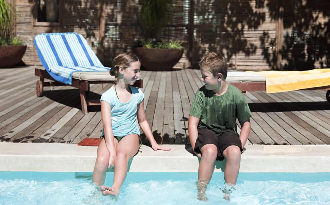 Kindvriendelijk vakantiehuis met zwembad