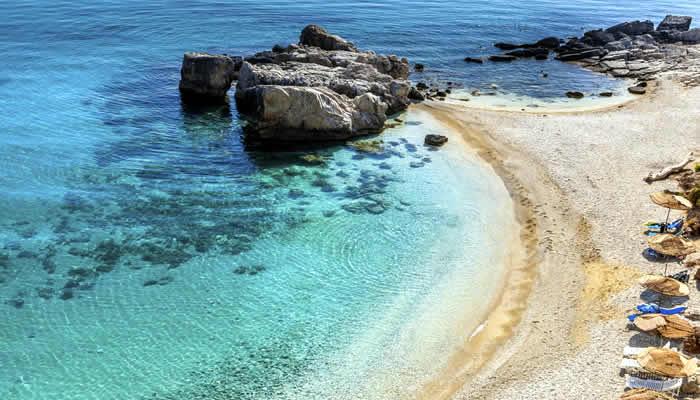 Krk mooie stranden