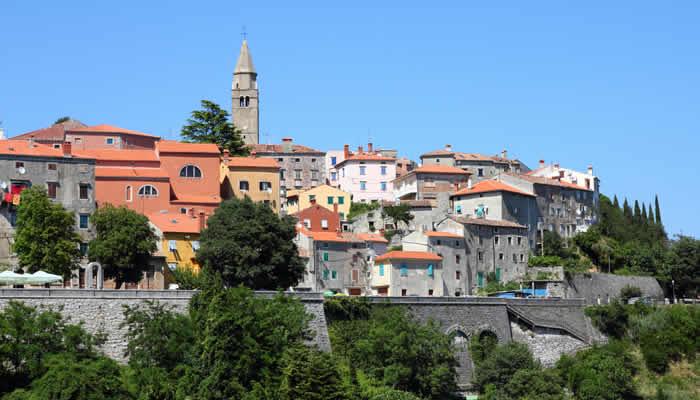 Moois stadjes zoals Labin in Istrië