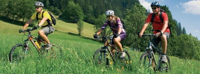 Fietsen, wandelen en mountainbiken in Hochmontafon