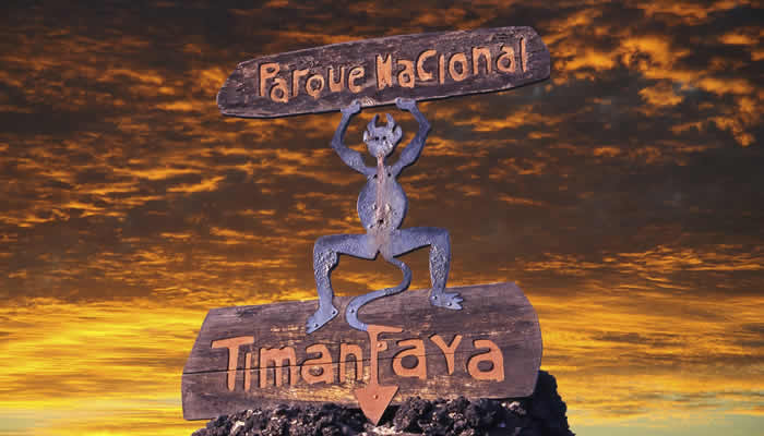Natuurpark Tmanfaya Lanzarote