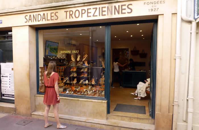 Shoppen aan de Côte d'Azur