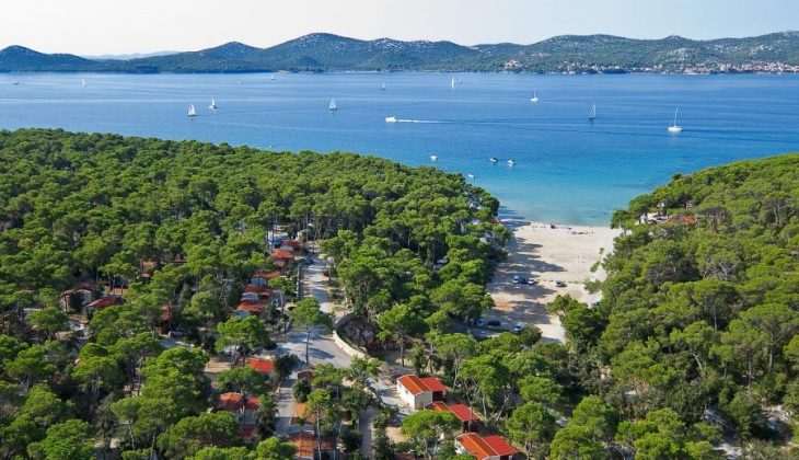Aanbieding Camping Park Soline, Kroatië