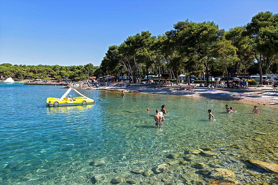 Camping Park Soline bij Biograd na Moru (Zadar)