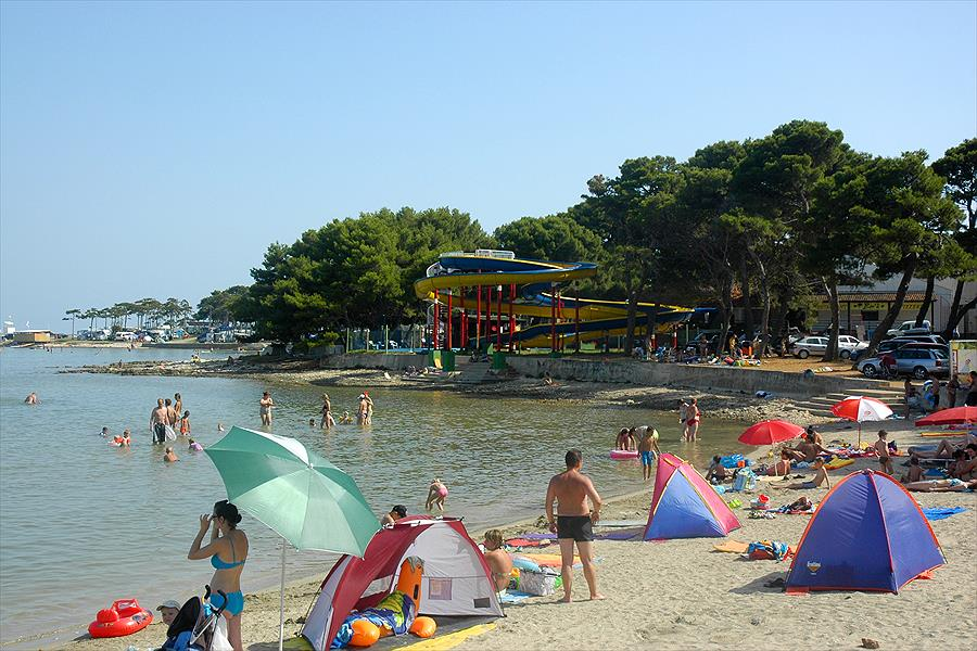 Camping Arena Medulin bij Medulin (Istrië)