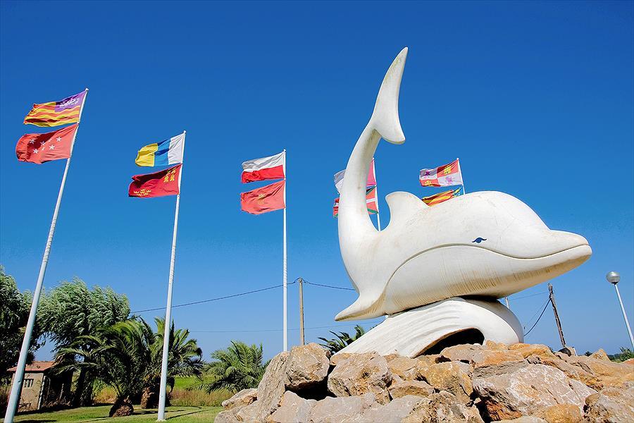 Camping El Delfin Verde in Torroella de Montgrí is een kindvriendelijke camping in Spanje
