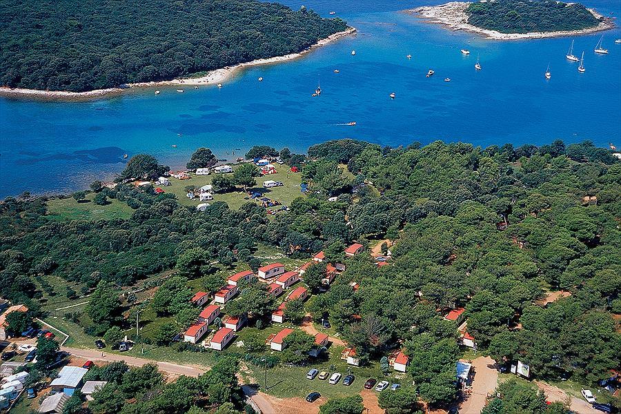 Camping Arena Indije bij Banjole (Istrië)
