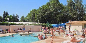 Aanbiedingen en korting Camping Les Etangs Fleuris Touquin