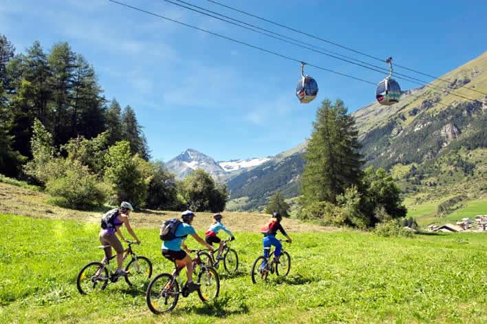 Mountainbiken Savoie Mont Blanc